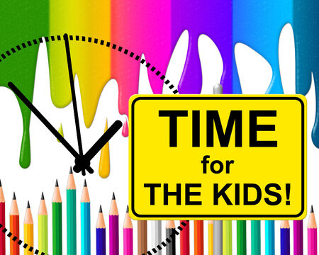 Time For Kids Meaning At The Moment And Now