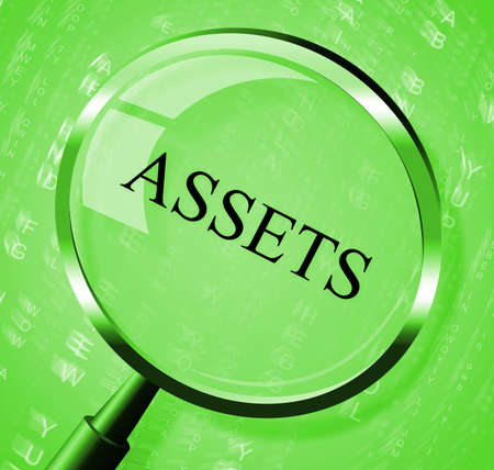 Assets Magnifier Meaning Searches Estate And Magnify