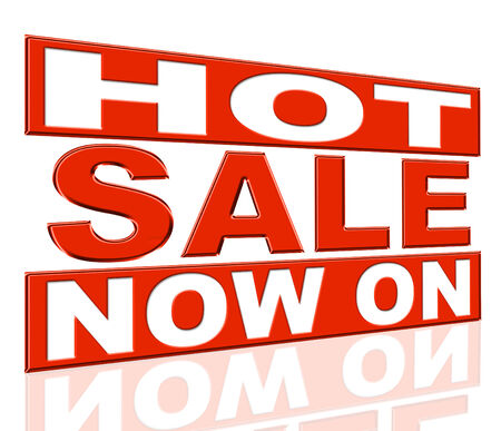 Hot Sale Indicating At The Moment And Promo