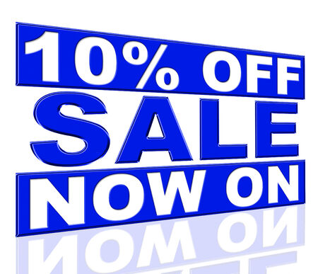 Ten Percent Off Showing At The Moment And Promo