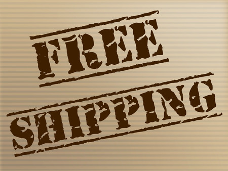 Free Shipping Representing With Our Compliments And Handout
