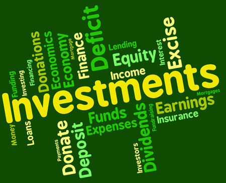 Investments Word wordcloud