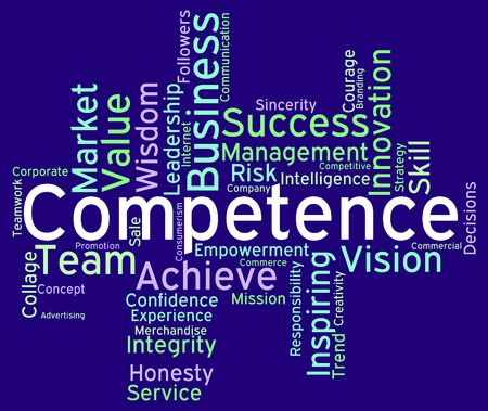 Competence Words wordcloud