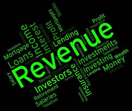 Revenue Word wordcloud
