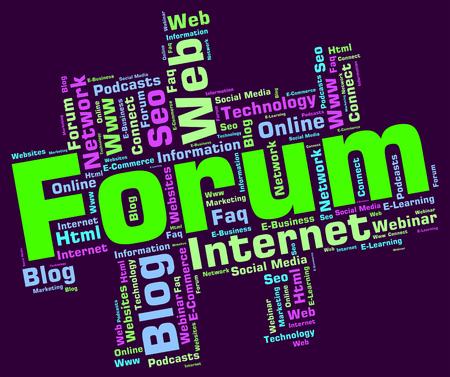 Forum Word wordcloud
