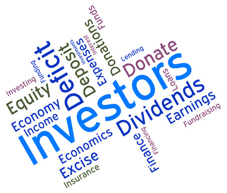 Investors Word Meaning Return On Investment And Opportunity Wordcloud