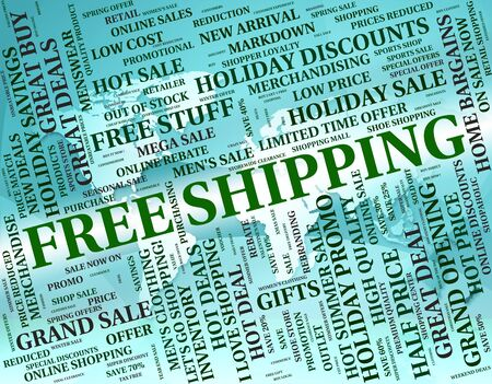 Free Shipping Showing With Our Compliments And Delivery