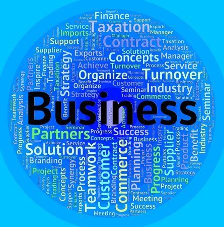 Business Word Meaning Words Commerce And Businesses