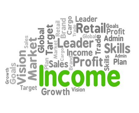 Income Word Meaning Salary Earns And Earning