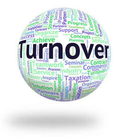 Turnover Word Representing Gross Sales And Words