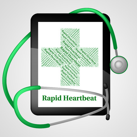 Rapid Heartbeat Meaning High Speed And Tachycardia