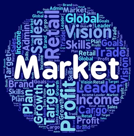 Market Word Showing Fair Wordclouds And Words