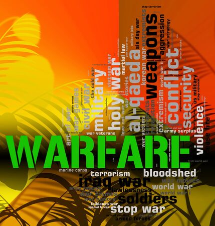 Warfare Word Meaning Wars Fights And Conflicts