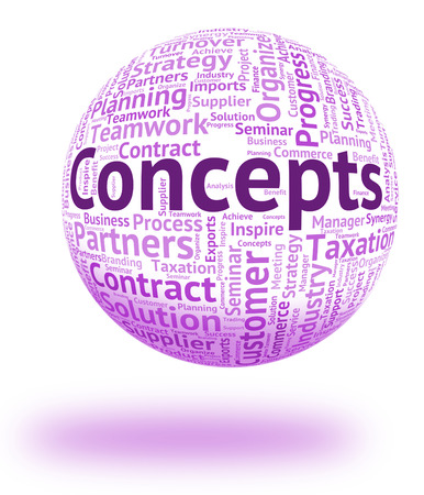 Concepts Word Indicating Idea Innovation And Conceptualization