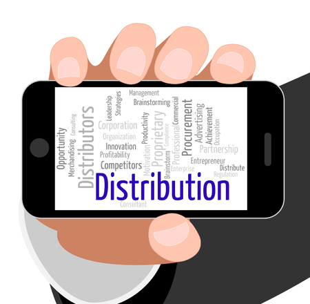 Distribution Word Meaning Supply Chain And Distribute