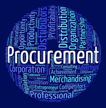 Procurement Word Showing Appropriation Words And Attainment