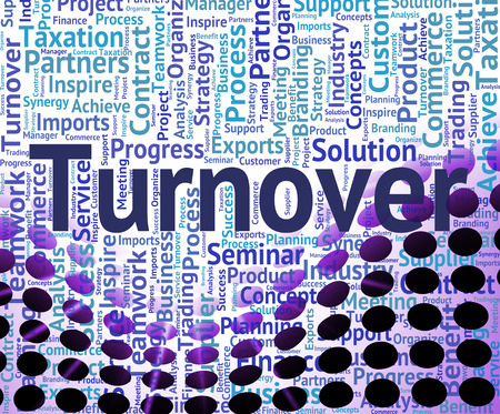 Turnover Word Indicating Gross Sales And Turnovers