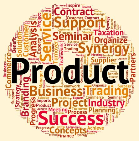 Product Word Meaning Retail Shop And Wordcloud