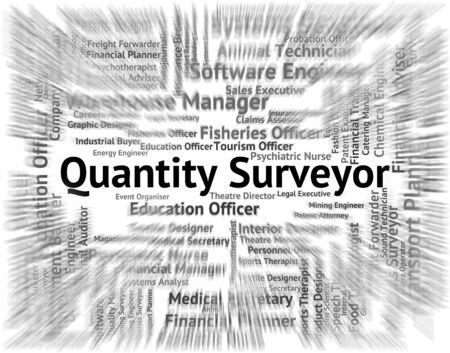 Quantity Surveyor Showing Measurer Employment And Recruitment