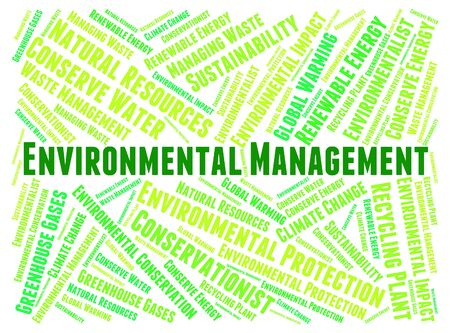 Environmental Management Meaning Environmentally Business And Earth