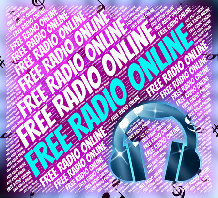 Free Radio Online Showing Sound Track And Melodies