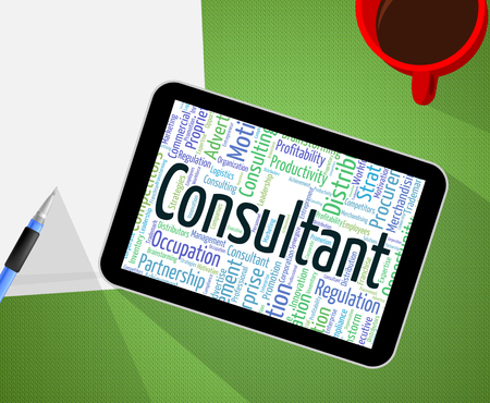 Consultant Word Meaning Consulting Adviser And Expert