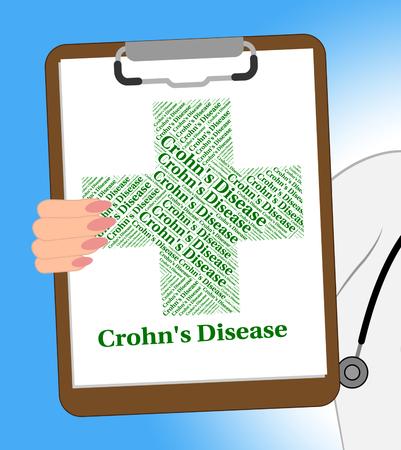 Crohn's Disease Representing Regional Enteritis And Crohns