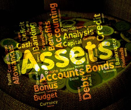 Assets Words Showing Estate Owned And Effects