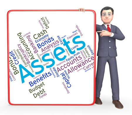 Assets Words Indicating Estate Wordcloud And Capital