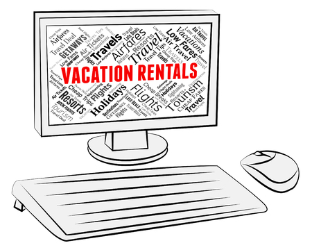 Vacation Rentals Representing Vacational Internet And Renter