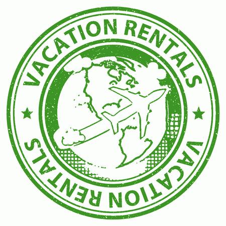 Vacation Rentals Indicating Vacationing Holidays And Renter
