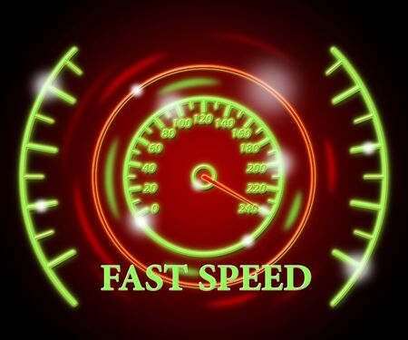 Fast Speed Meaning Net Odometer And Measure