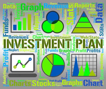 Investment Plan Showing Formula System And Stratagem