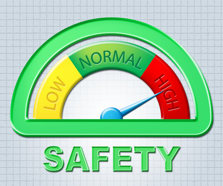 High Safety Representing Warning Excess And Higher