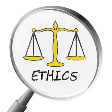 Ethics Magnifier Meaning Moral Stand And Virtues