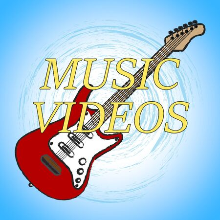 Music Videos Showing Audio Visual And Track