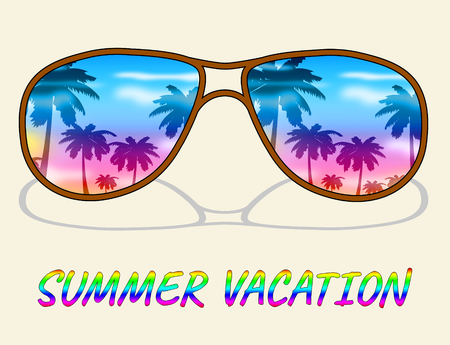 Summer Vacation Meaning Time Off And Summertime