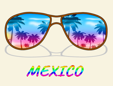 Mexico Vacation Indicating Time Off And Vacational