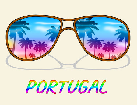 Portugal Holiday Representing Go On Leave And Time Off