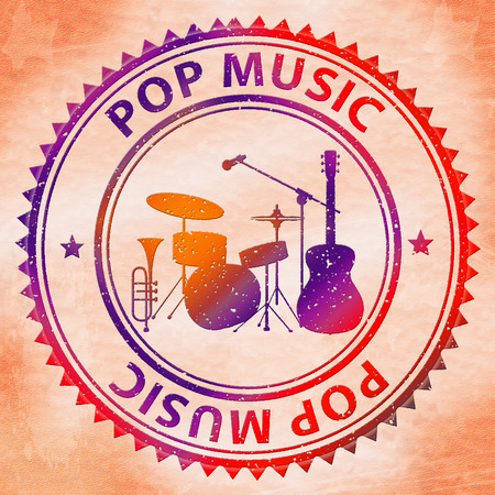 Pop Music Representing Sound Track And Acoustic