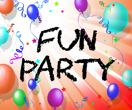 Fun Party Meaning Joyful Cheerful And Celebrating