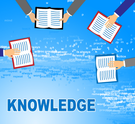 Knowledge Books Showing Know How And Wisdom