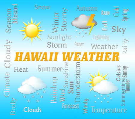 Hawaii Weather Showing Hawaiian Outlook And Forecast