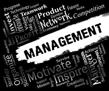 Management Words Representing Organization Directors And Administration