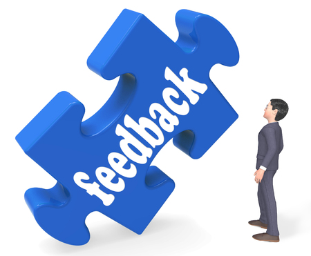 Feedback Meaning Opinion Comment Surveys And Evaluation 3d Rendering