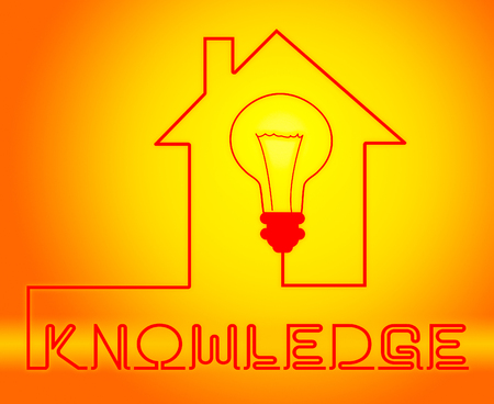 Knowledge Light Showing Know How And Wisdom