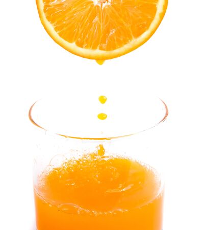 Freshly Squeezed Orange Meaning Tropical Fruit And Citrus