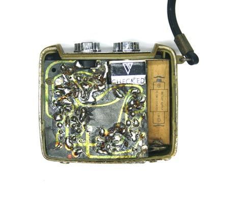 Vintage old transistor radio