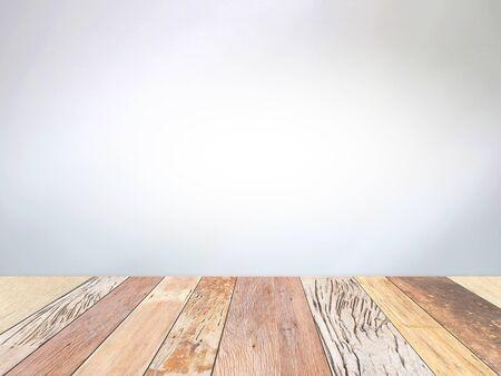 Photo pour top view old wood plank texture background - image libre de droit