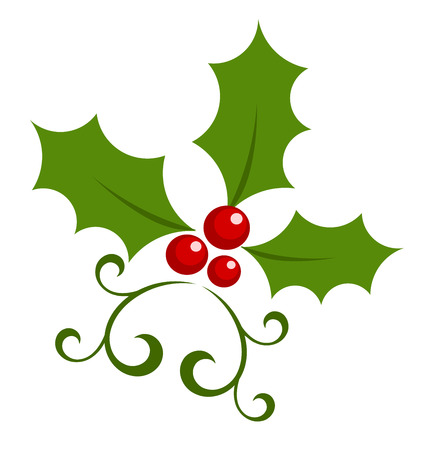 Christmas holly berry symbol.